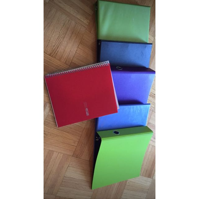 Binders And Note Book