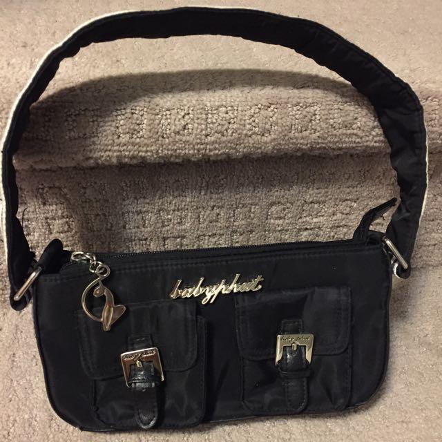 Black Baby Phat Handbag