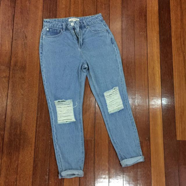 Boyfriend Jeans FOREVER 21