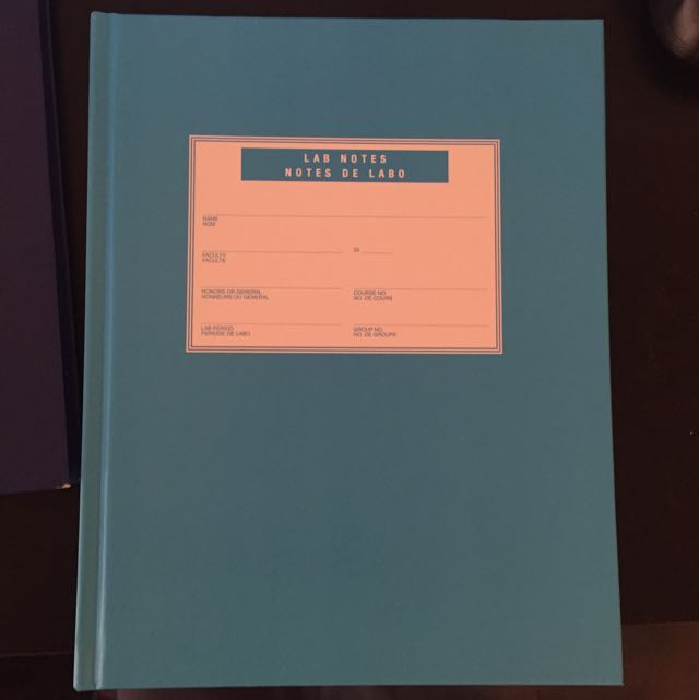 Brand New Lab Note Book