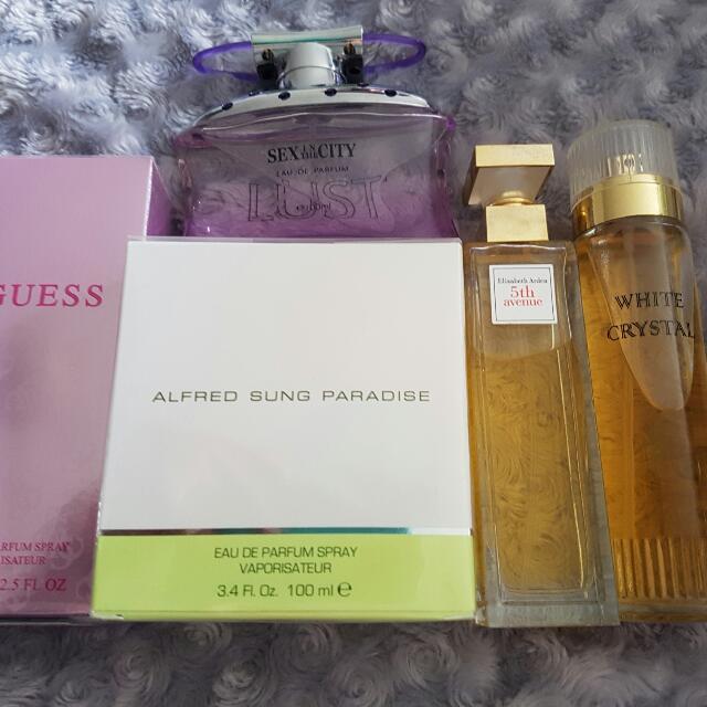 Brand New Perfumes.