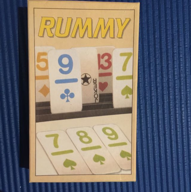 Brand New Rummy Card