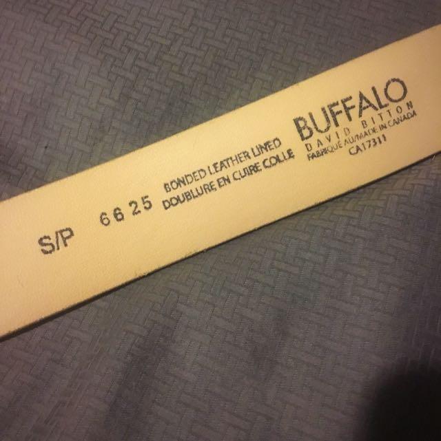 """""""Buffalo"""" Belt - Size Small"""