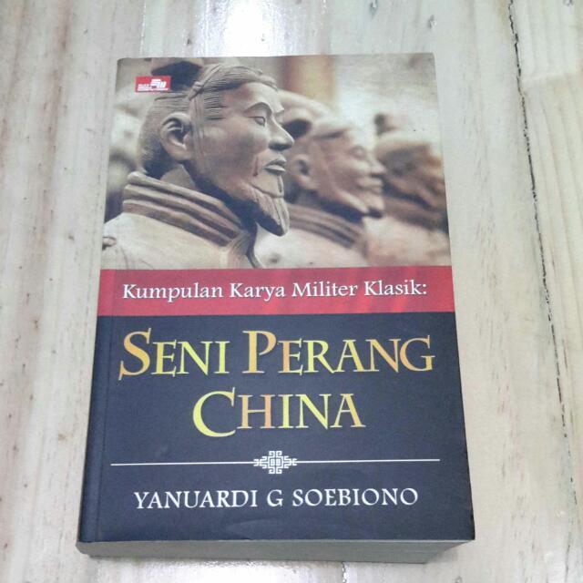 Buku Kumpulan Karya Militer Klasik: Seni Perang China