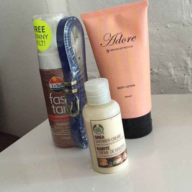 BUNDLE! New Le Tan Tanning + Moisturizer