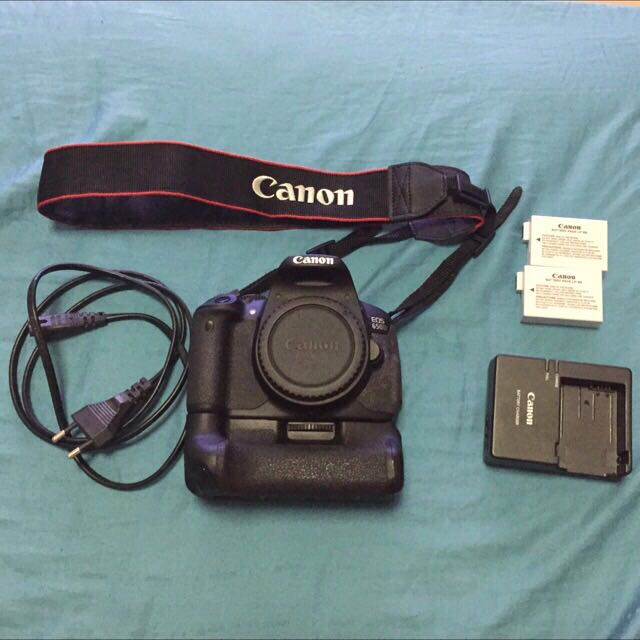 Canon 650d Body + Accessories