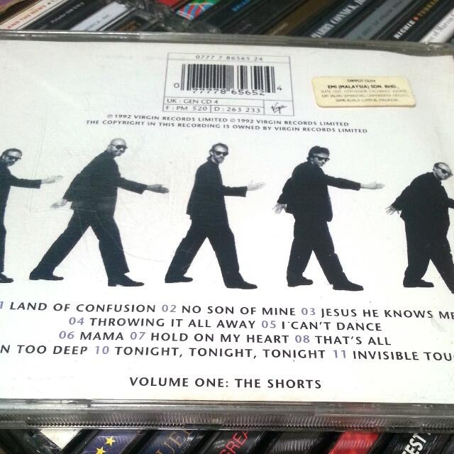 CD Genesis  Live Best Of  Phil Collins