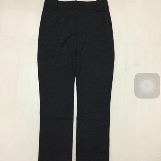 Cue Black Wool Pants Size 6