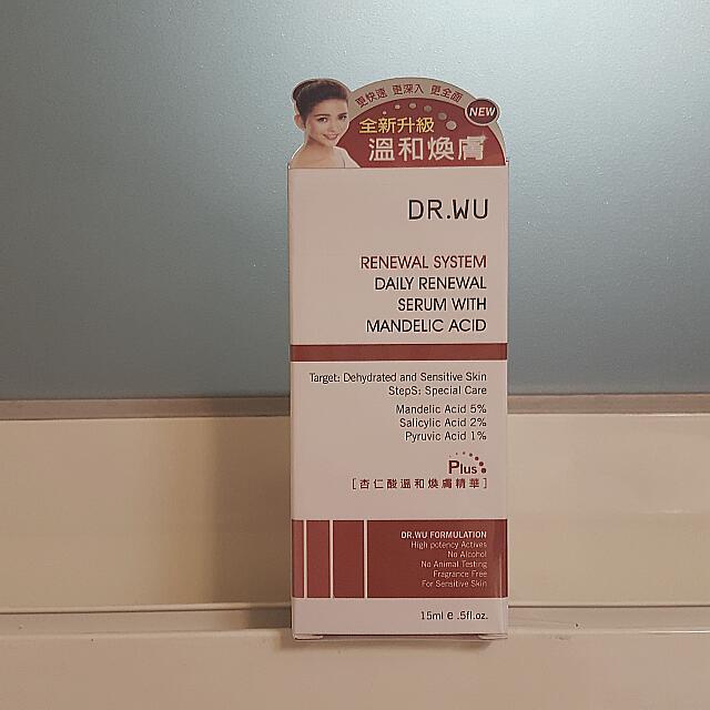 Dr.wu杏仁酸溫和煥膚精華