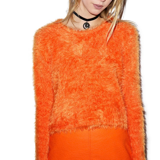 Evil Twin orange jumper dollskill