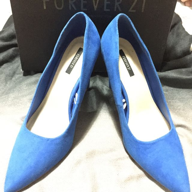 Forever21 BLUE Pumps
