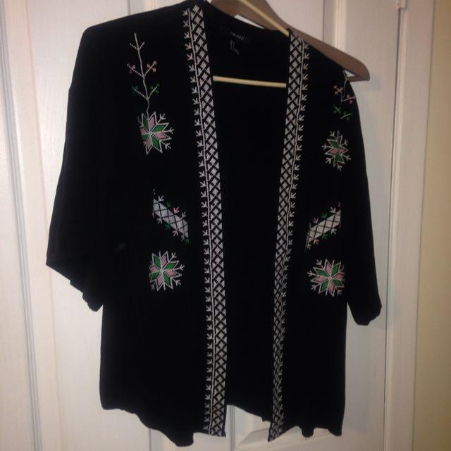 Forever 21 Kimono Style Shirt