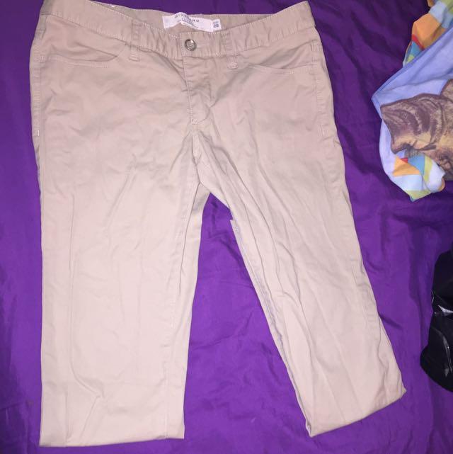 Giordano Khakis Size 28