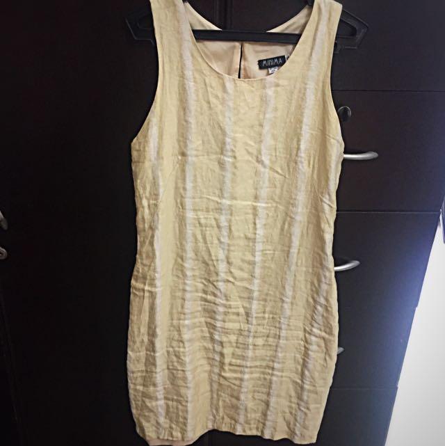 Gold Suit  A-Line dress