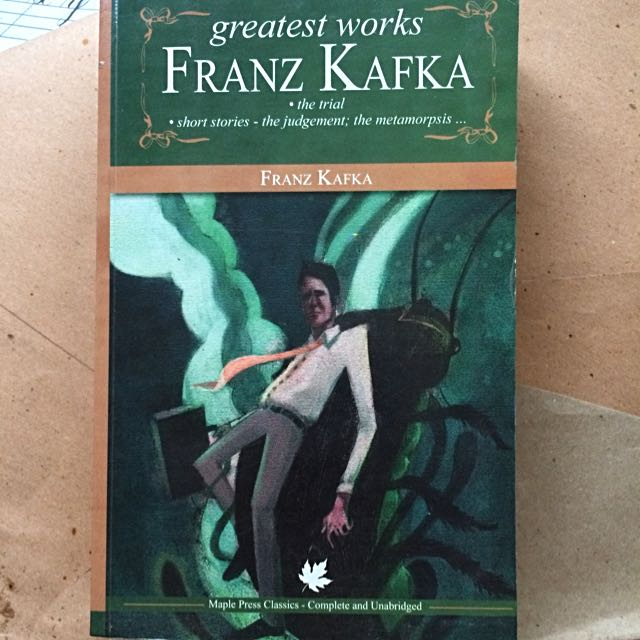 Greatest Works Of Franz Kafka