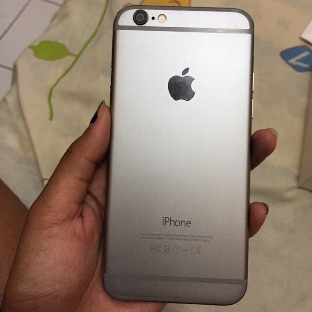 Iphone 6 Gray Space 64gb Butuh Uang