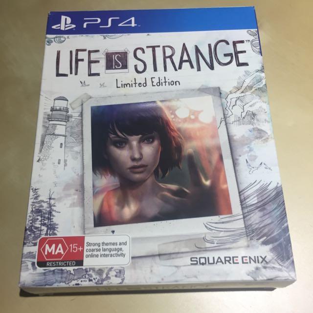 Life Of Strange Ps4 game