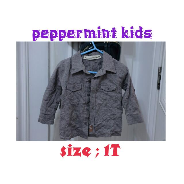 Long Sleeves Polo Shirt From Peppermint