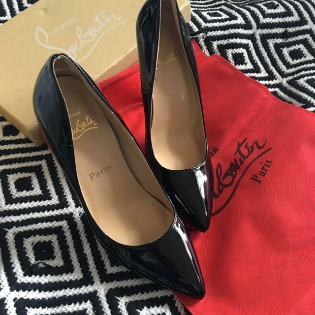 Black Louboutins (Size 38)