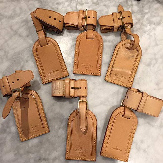 Louis Vuitton Bag Tag And Strap