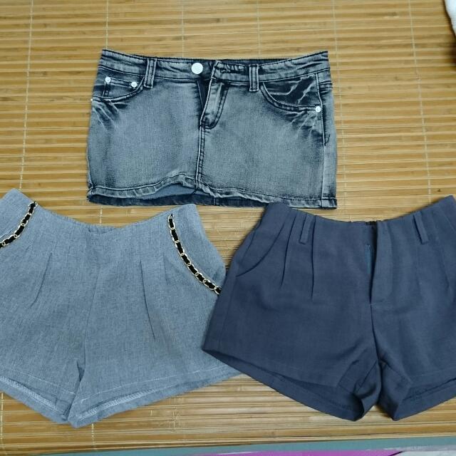 M碼 牛仔褲 和短褲