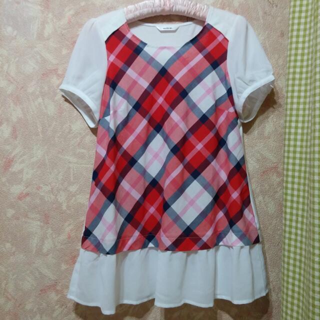 Matsumi紅格紋洋裝