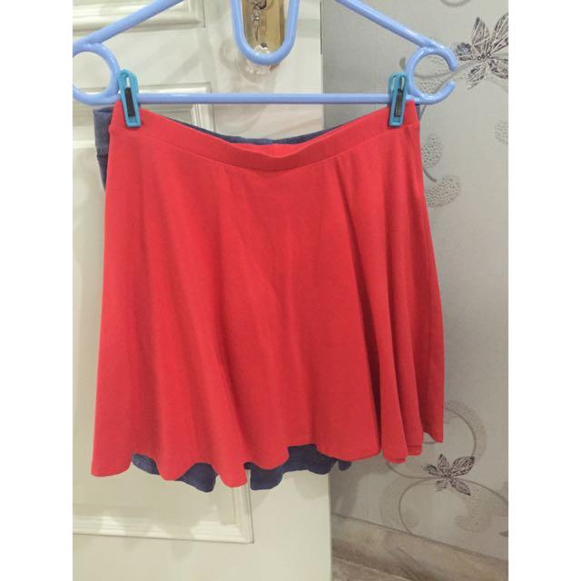 Midi Skirt / Rok Orange
