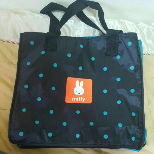 Miffy 米菲 兔 大容量 保冷袋 保溫 便當袋 野餐袋