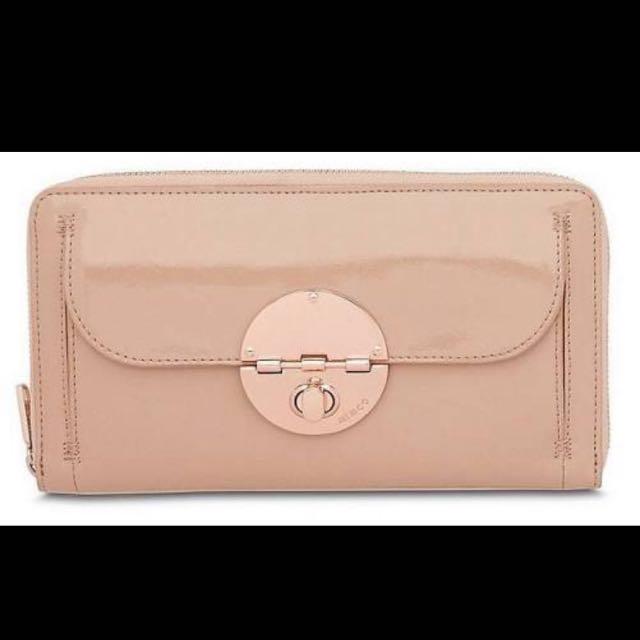 Mimco Turn lock Travel Wallet