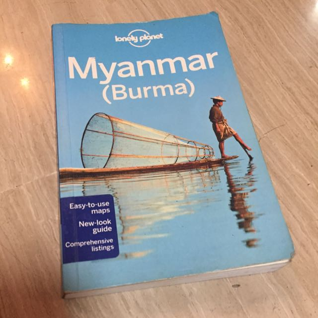 Myanmar/Burma Lonely Planet Book