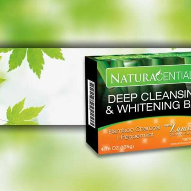 Naturacential Deep Cleansing And Whitening Bar Soap