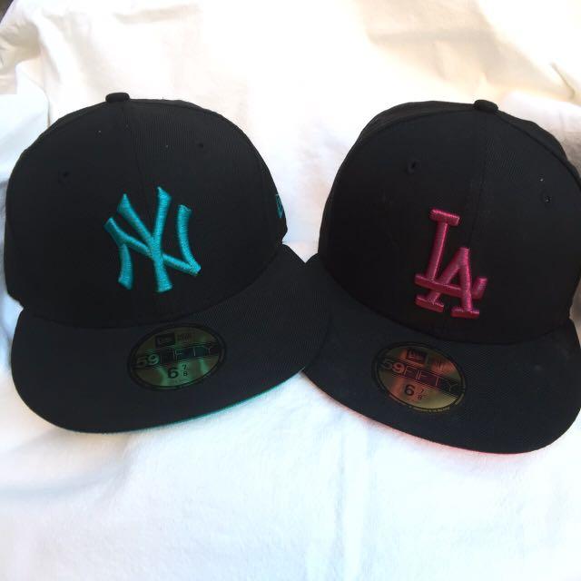 New era 帽子(黑)