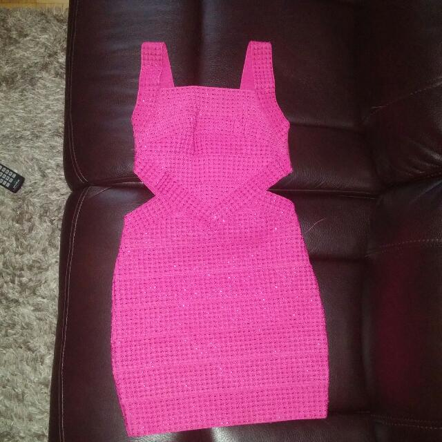 *New* Pink Party Dress size small
