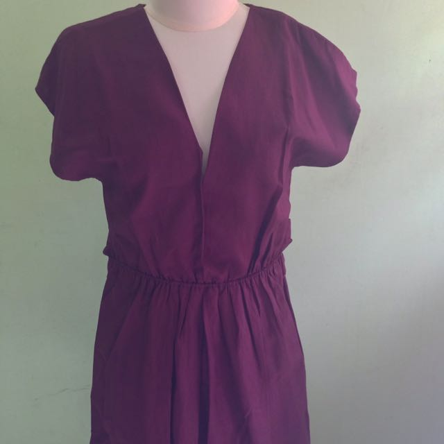 (NEW) Red Wine Dress