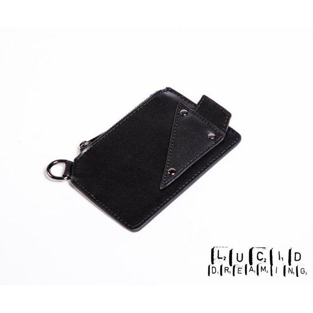 <全新>NU by Slightly Numb 2015-16 A/W VAZ COIN CASE 皮革 錢包 原價980