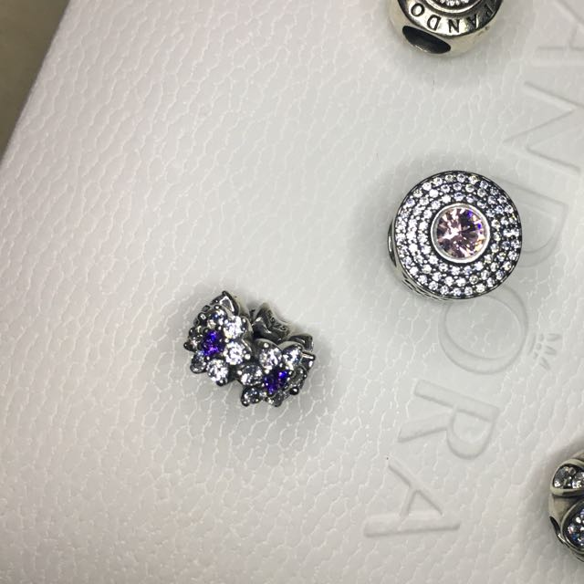 760a86a9b Pandora Forget Me Not Spacer, Women's Fashion, Accessories on Carousell