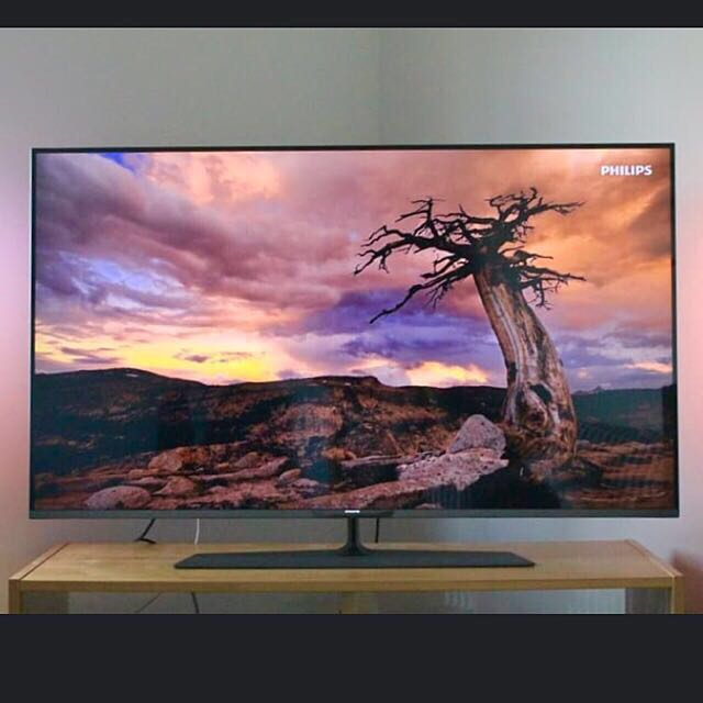 Philips 4k 3D Smart Tv 55inches