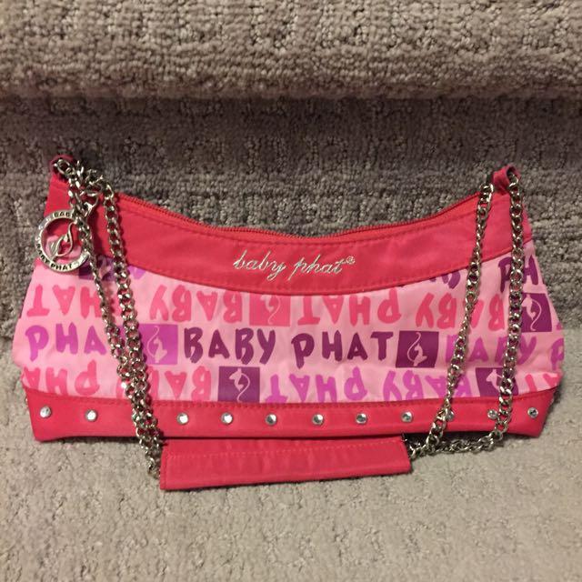 Pink Bling Baby Phat Handbag