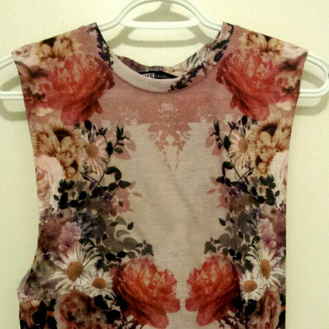 Printed Floral Blouse