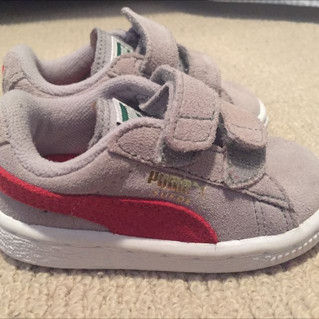 Puma Toddle Suede Trainers