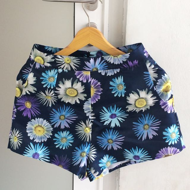 Skirt (navy Flowers)
