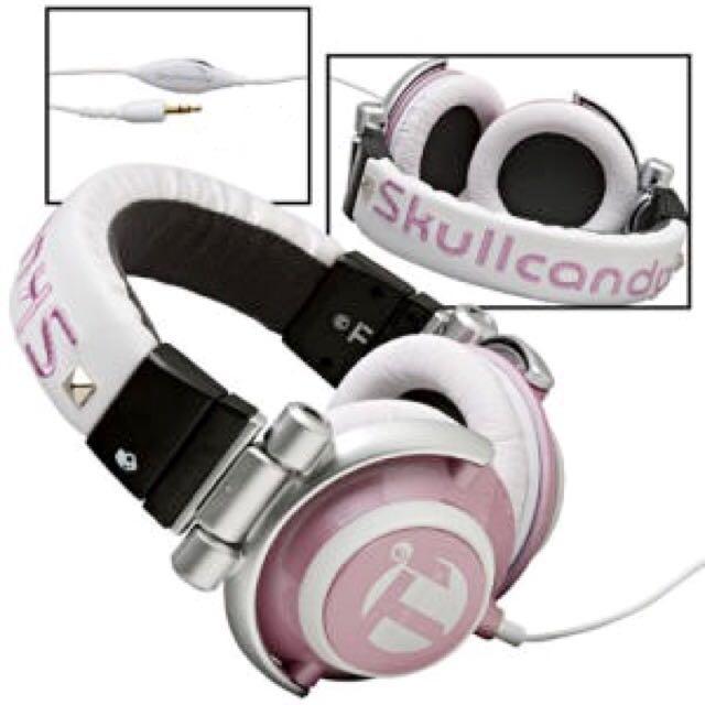 Skullcandy Ti - Pale Pink *RARE*