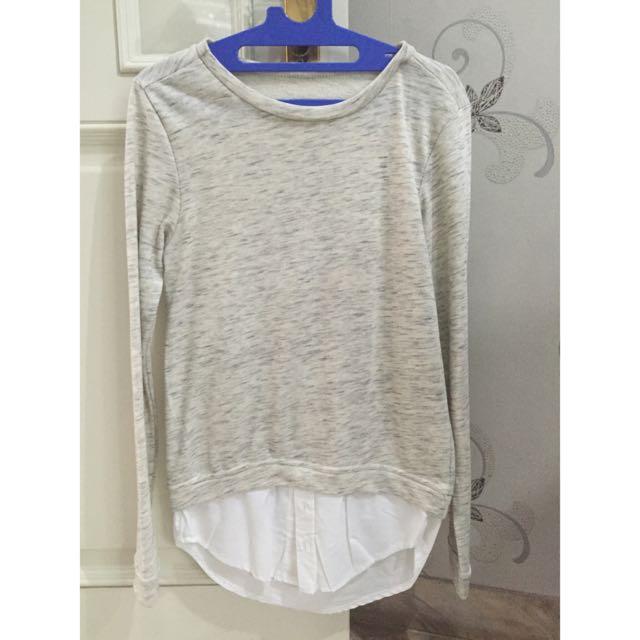 Sweater Light Grey / Abu