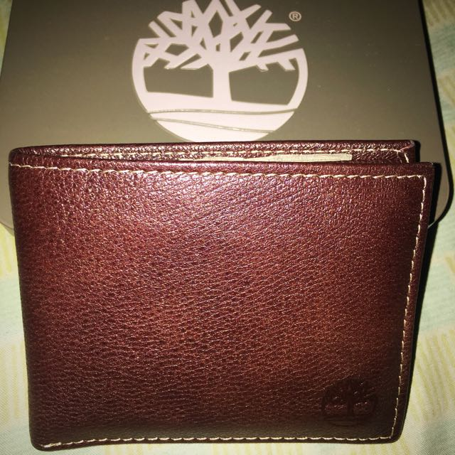 Timberland Slimfold Wallet Brown Original