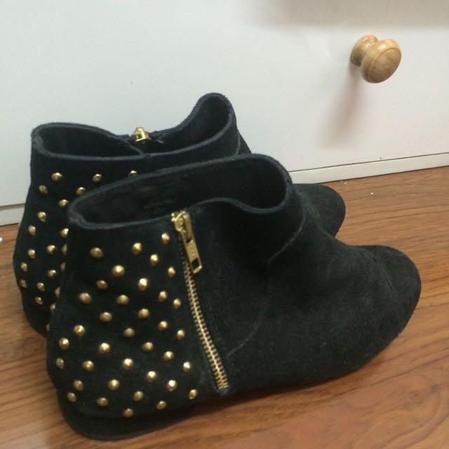 Top Shop Black Ankle Boots