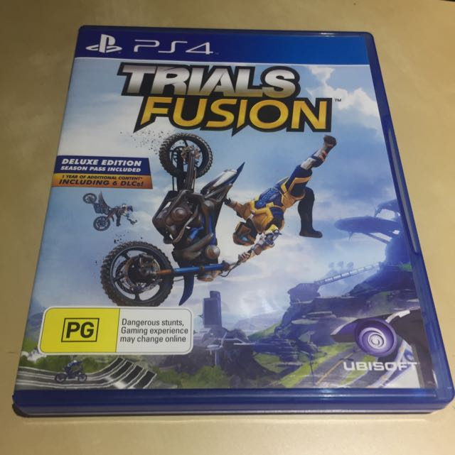 Trials Fusion ps4 game