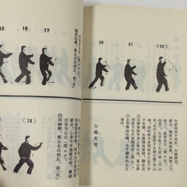 Vintage Tai Chi Manual