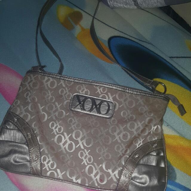 XOXO Sling Bag Silver And Grey