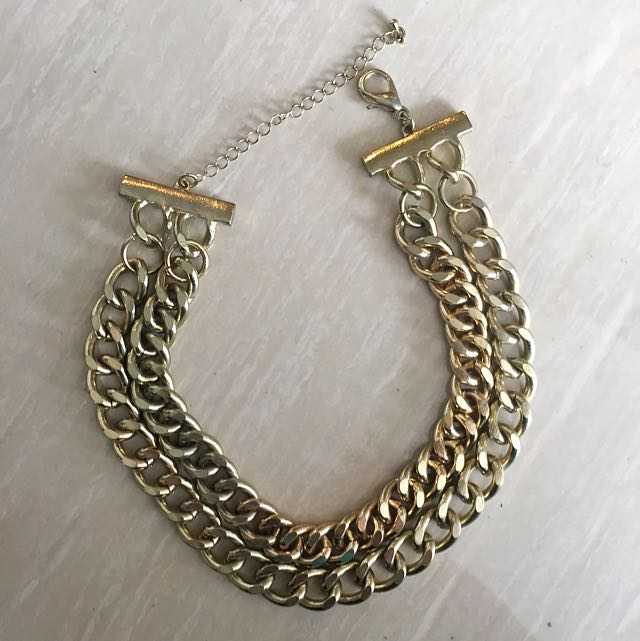 ZARA - Double Chain Necklace