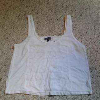 American Eagle Crop Top With Detailed Back Size Small
